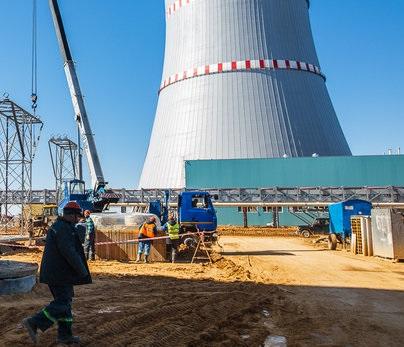 Литва активно пытается помешать запуску Белорусской АЭС