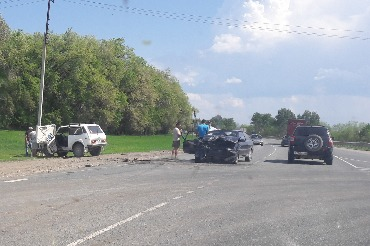 В ДТП на трассе пострадало 3 взрослых и грудничок