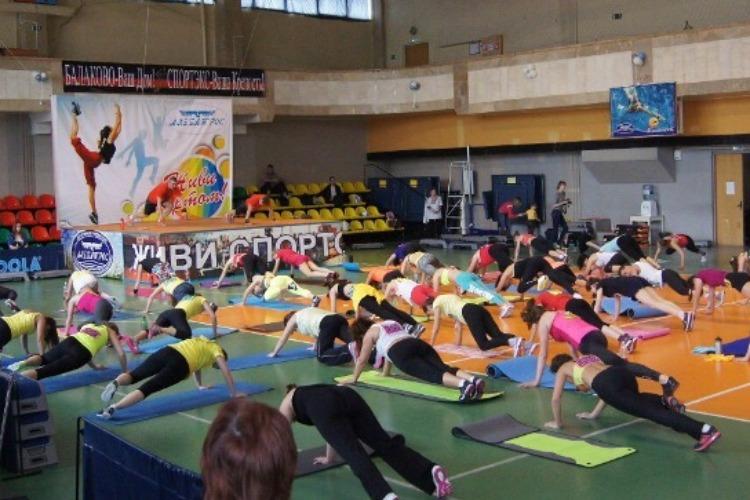 Завтра в Балакове состоится фитнес-марафон
