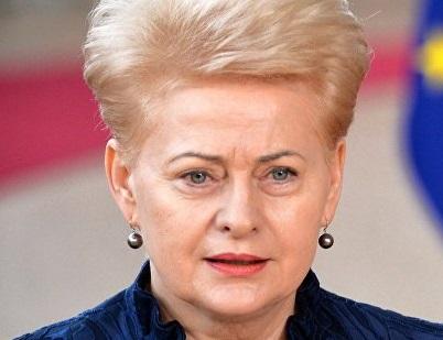 Грибаускайте призвала Литву отказаться от диалога с «враждебными странами»