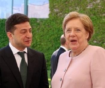 Ангеле Меркель стало плохо во время встречи с Зеленским
