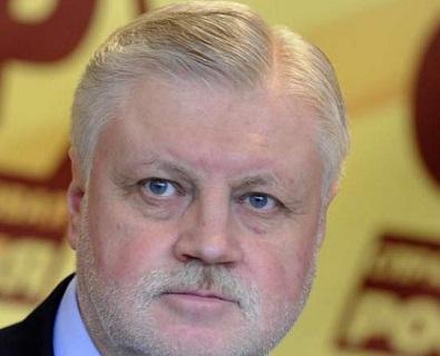 Миронов потребовал ввести санкции: импорт напитков и продуктов из Грузии — это благотворительность