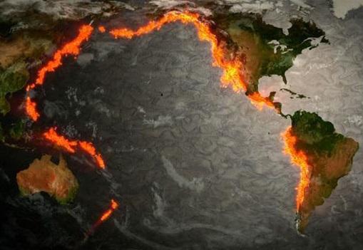 Тихоокеанское огненное кольцо существенно активизировалось