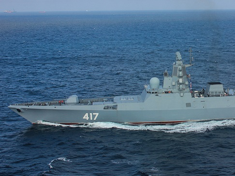 Корабли ВМФ РФ во главе с фрегатом «Адмирал Горшков» зашли в порт столицы Кубы
