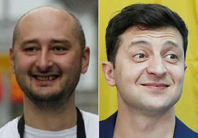 Аркадий Бабченко поставил Зеленскому диагноз: идиотизм, кретинизм, дебилизм, олигофрения