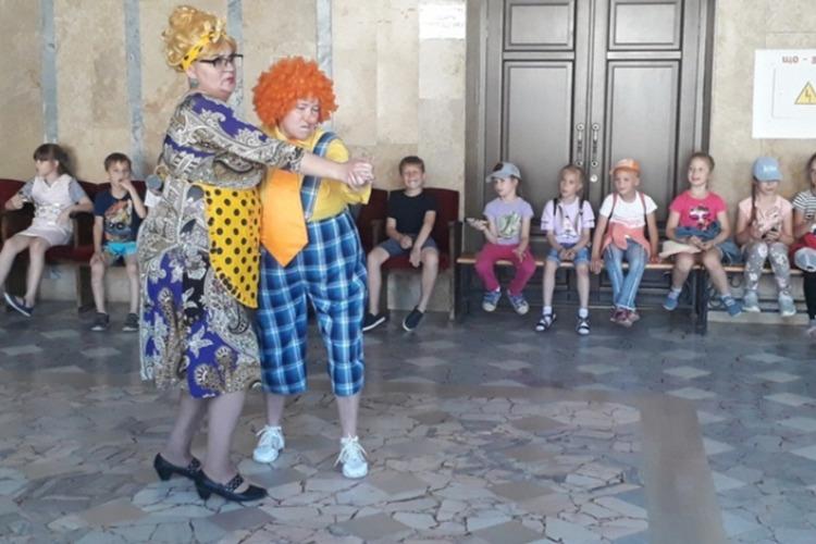 Школьники посетили Воробьиную дискотеку