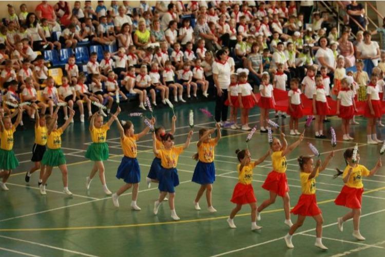 Более 700 дошколят приняли участие в танцевальном марафоне