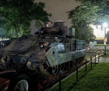Пентагон объяснил доставку ржавой военной техники ко Дню независимости США