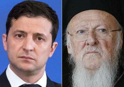 Зеленский отказался подписывать совместное заявление с Варфоломеем