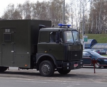 В Москве в день митинга оппозиции состоятся соревнования по вождению автозаков