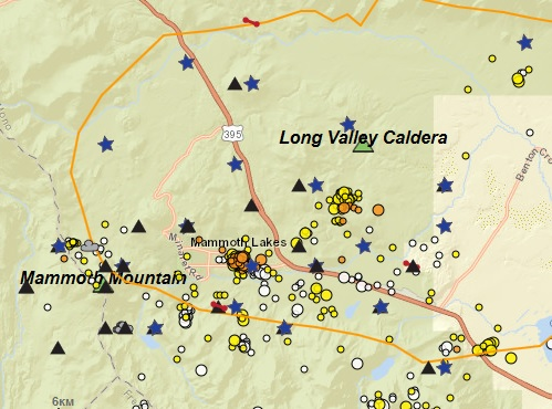 Вулканы Калифорнии серьезно трясет: в июле 5 тыс землетрясений в вулканическом комплексе Косо, 380 — в районе Лонг Велли