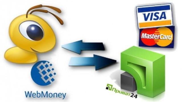 Обмен ВМР на Приват24 для вашего удобства
