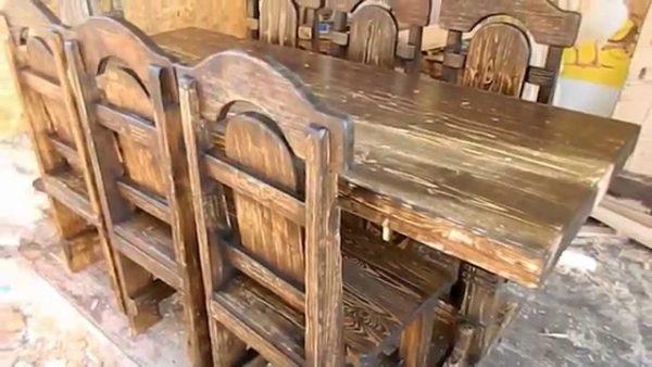 Мебель из массива дерева в Тюмени